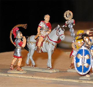 Roman centurio